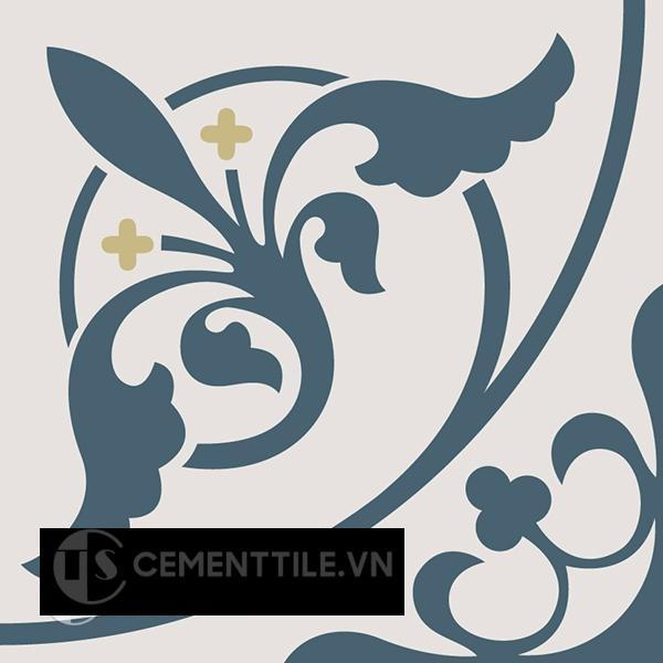 Gạch bông CTS 195.1(1-52-54) - Encaustic cement tile CTS 195.1(1-52-54)