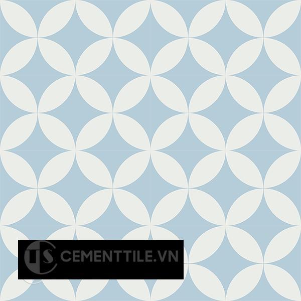 Gạch bông CTS 7.12(2-4) - 16 viên - Encaustic cement tile CTS 7.12(2-4) - 16 tiles