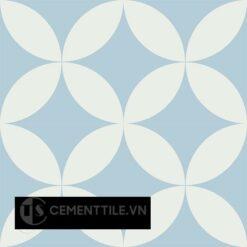 Gạch bông CTS 7.12(2-4) - 4 viên - Encaustic cement tile CTS 7.12(2-4) - 4 tiles