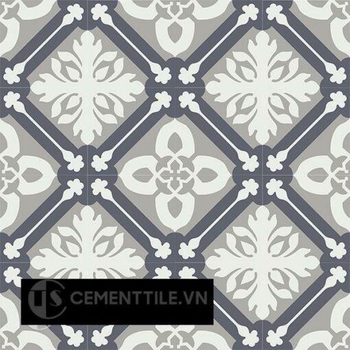 Gạch bông CTS 72.2(4-9-15) - 16 viên - Encaustic cement tile CTS 72.2(4-9-15) - 16 tiles