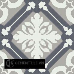 Gạch bông CTS 72.2(4-9-15) - 4 viên - Encaustic cement tile CTS 72.2(4-9-15) - 4 tiles