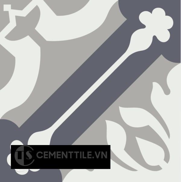 Gạch bông CTS 72.2(4-9-15) - Encaustic cement tile CTS 72.2(4-9-15)