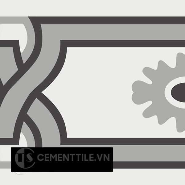 Gạch bông CTS B110.5(4-9-13) - Encaustic cement tile CTS B110.5(4-9-13)