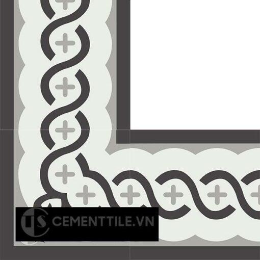 Gạch bông CTS BC107.1(4-9-13) - Encaustic cement tile CTS BC107.1(4-9-13)
