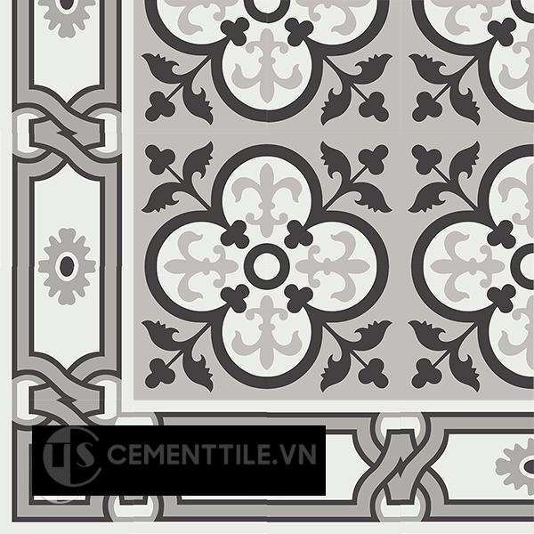 Gạch bông CTS BC110.5(4-9-13) - Encaustic cement tile CTS BC110.5(4-9-13)