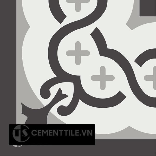 Gạch bông CTS C107.1(4-9-13) - Encaustic cement tile CTS C107.1(4-9-13)