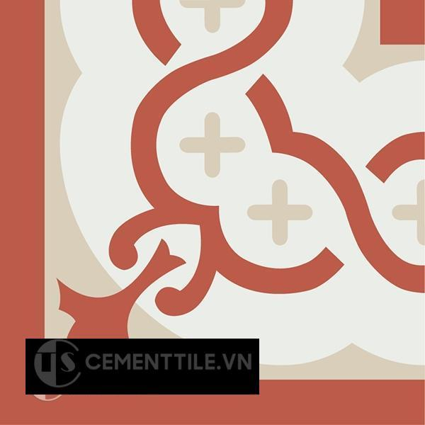 Gạch bông CTS C107.2(4-5-12) - Encaustic cement tile CTS C107.2(4-5-12)