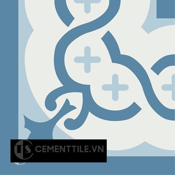 Gạch bông CTS C107.3(2-4-10) - Encaustic cement tile CTS C107.3(2-4-10)