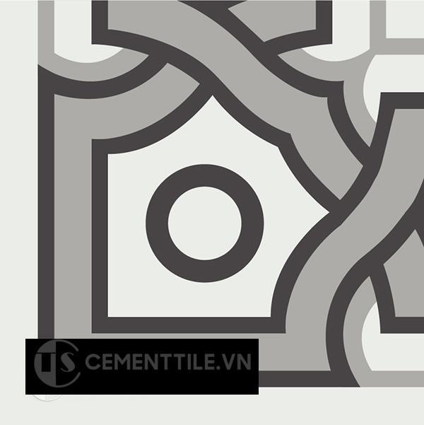 Gạch bông CTS C110.5(4-9-13) - Encaustic cement tile CTS C110.5(4-9-13)