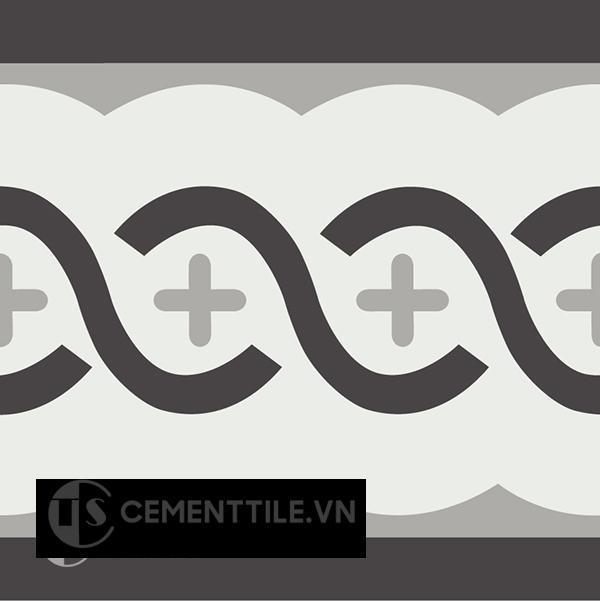 Gạch bông CTS B107.1(4-9-13) - Encaustic cement tile CTS B07.1(4-9-13)