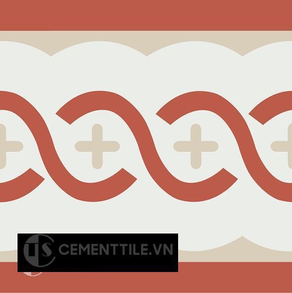 Gạch bông CTS B107.2(4-5-12) - Encaustic cement tile CTS B107.2(4-5-12)