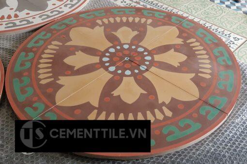 Bàn gạch bông CTS-02 - Cement tile table CTS-02
