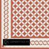 Gạch bông CTS BC107.2(4-5-12) - Encaustic cement tile CTS BC107.2(4-5-12)