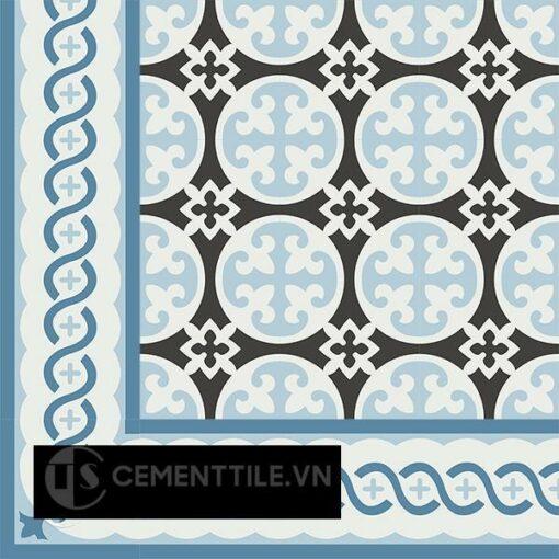 Gạch bông CTS BC107.3(2-4-10) - Encaustic cement tile CTS BC107.3(2-4-10)