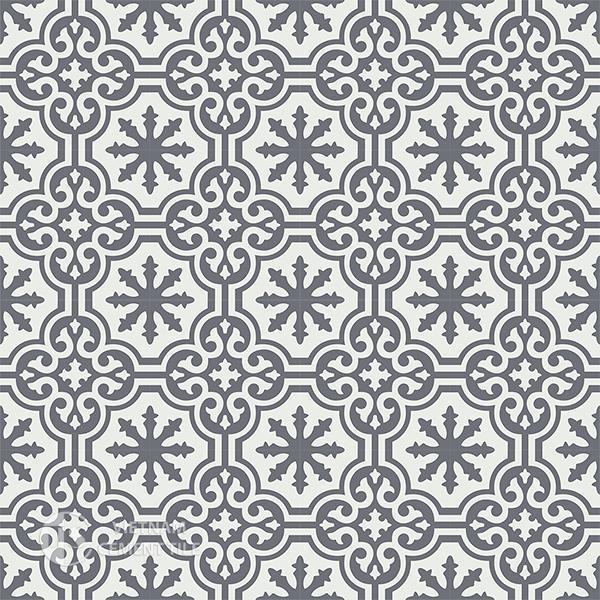 Gạch bông CTS 1.46(4-32) - 16 viên - Encaustic cement tile CTS 1.46(4-32) - 16 tiles