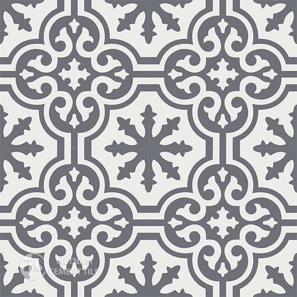 Gạch bông CTS 1.46(4-32) - 4 viên - Encaustic cement tile CTS 1.46(4-32) - 4 tiles