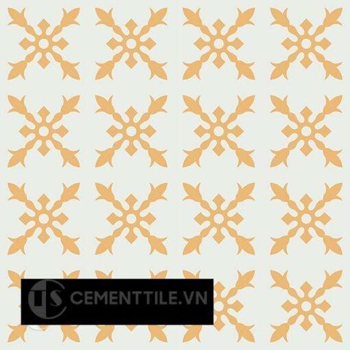 Gạch bông CTS 179.2(4-6) - 16 viên - Encaustic cement tile CTS 179.2(4-6) - 16 tiles