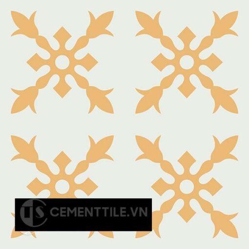 Gạch bông CTS 179.2(4-6) - 4 viên - Encaustic cement tile CTS 179.2(4-6) - 4 tiles