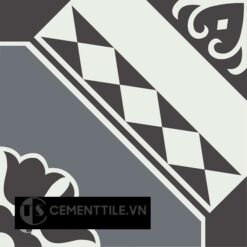 Gạch bông CTS 197.1(4-13-32) - Encaustic cement tile CTS 197.1(4-13-32)