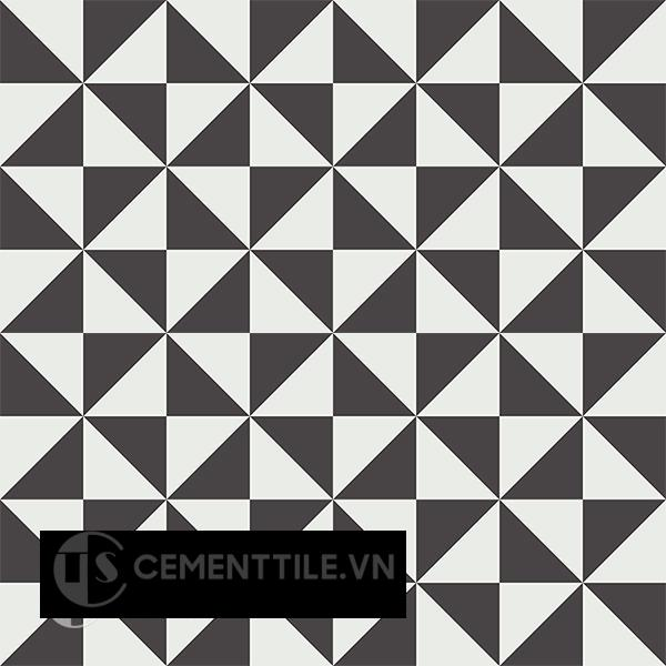 Gạch bông CTS 199.1(4-13) - 16 viên - Encaustic cement tile CTS 199.1(4-13)-16 tiles