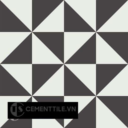 Gạch bông CTS 199.1(4-13) - 4 viên - Encaustic cement tile CTS 199.1(4-13)-4 tiles