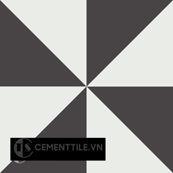 Gạch bông CTS 199.1(4-13) - Encaustic cement tile CTS 199.1(4-13)