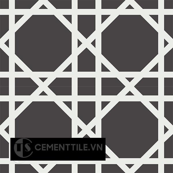 Gạch bông CTS 200.1(4-13) - 4 viên - Encaustic cement tile CTS 200.1(4-13)-4 tiles