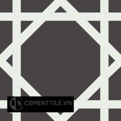 Gạch bông CTS 200.1(4-13) - Encaustic cement tile CTS 200.1(4-13)