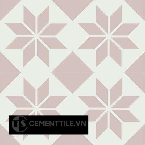 Gạch bông CTS 201.1(4-27) - 16 viên - Encaustic cement tile CTS 201.1(4-27) - 16 tiles