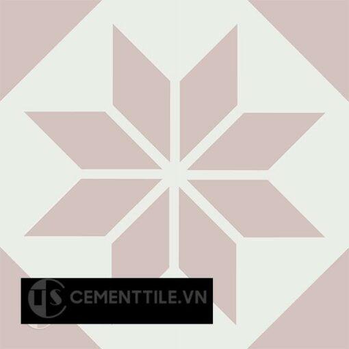 Gạch bông CTS 201.1(4-27) - 4 viên - Encaustic cement tile CTS 201.1(4-27) - 4 tiles
