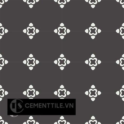 Gạch bông CTS 203.1(4-13) - 16 viên - Encaustic cement tile CTS 203.1(4-13) - 16 tiles