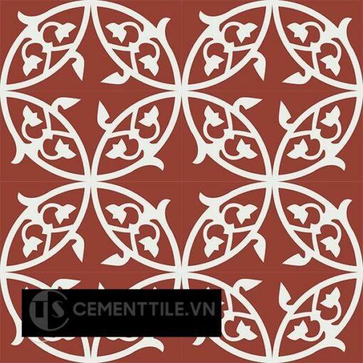 Gạch bông CTS 205.1(4-62) - 16 viên - Encaustic cement tile CTS 205.1(4-62) - 16 tiles