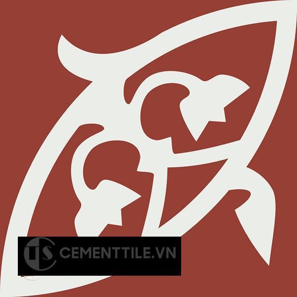 Gạch bông CTS 205.1(4-62) - Encaustic cement tile CTS 205.1(4-62)