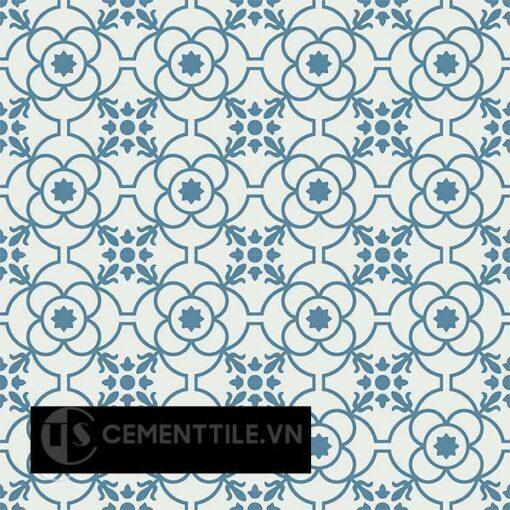 Gạch bông CTS 51.8(4-10) - 16 viên - Encaustic cement tile CTS 51.8(4-10) - 16 tiles