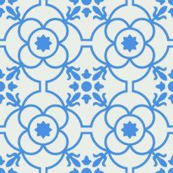 Gạch bông CTS 51.8(4-8) - 4 viên - Encaustic cement tile CTS 51.8(4-8) - 4 tiles