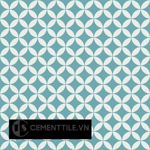 Gạch bông CTS 6.23(4-57) - 16 viên - Encaustic cement tile CTS 6.23(4-57)-16 tiles