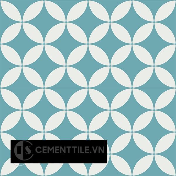 Gạch bông CTS 6.23(4-57) - 4 viên - Encaustic cement tile CTS 6.23(4-57)-4 tiles