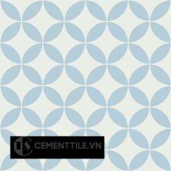 Gạch bông CTS 6.24(2-4) - 4 viên - Encaustic cement tile CTS 6.24(2-4) - 4 tiles