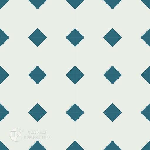 Gạch bông CTS 99.2(4-09) - 16 viên - Encaustic cement tile CTS 99.2(4-09) - 16 tiles