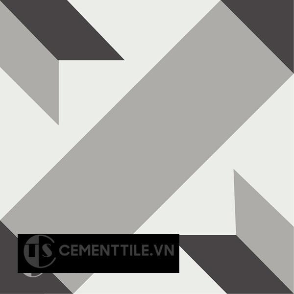 Gạch bông CTS 12.7(4-9-13) - Encaustic cement tile CTS 12.7(4-9-13)