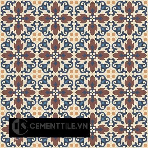 Gạch bông CTS 18.12(10-34-59-60-100) - 16 viên - Encaustic cement tile CTS 18.12(10-34-59-60-100)- 16 tiles