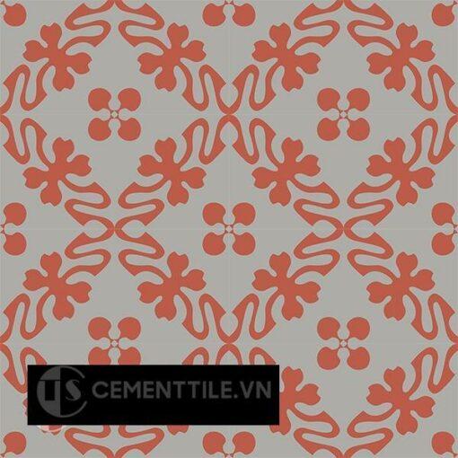 Gạch bông CTS 196.1(5-9) - 16 viên - Encaustic cement tile CTS 196.1(5-9) - 16 tiles