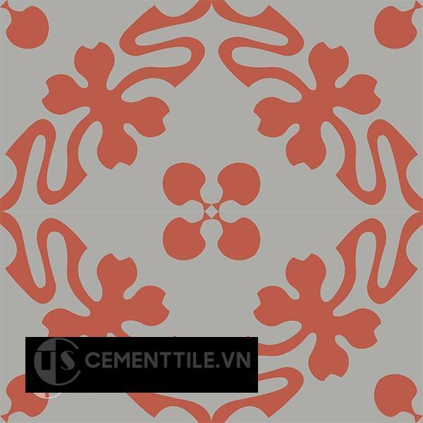 Gạch bông CTS 196.1(5-9) - 4 viên - Encaustic cement tile CTS 196.1(5-9) - 4 tiles