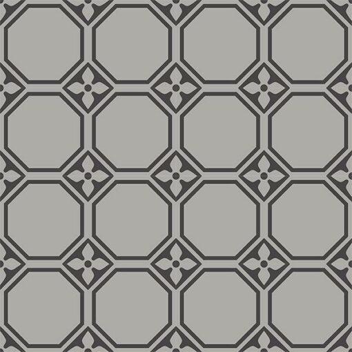 Gạch bông CTS 208.1(9-13) - 16 viên - Encaustic cement tile CTS 208.1(9-13) - 16 tiles