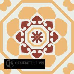 Gạch bông CTS 209.1(4-6-62) - Encaustic cement tile CTS 209.1(4-6-62)