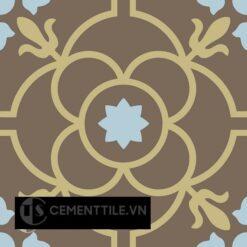 Gạch bông CTS 51.9(2-28-52) - Encaustic cement tile CTS 51.9(2-28-52)