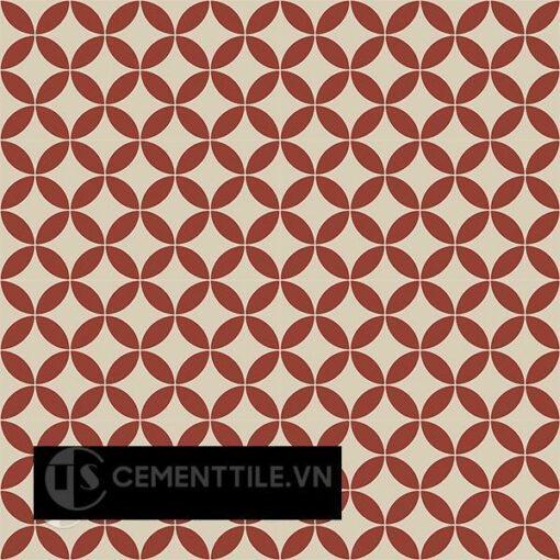 Gạch bông CTS 6.25(12-62) - 16 viên - Encaustic cement tile CTS 6.25(12-62) - 16 tiles