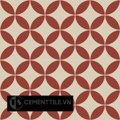 Gạch bông CTS 6.25(12-62) - 4 viên - Encaustic cement tile CTS 6.25(12-62) - 4tiles