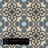 Gạch bông CTS 84.9(9-10-12-13) - 4 viên - Encaustic cement tile CTS 84.9(9-10-12-13) - 4 tiles