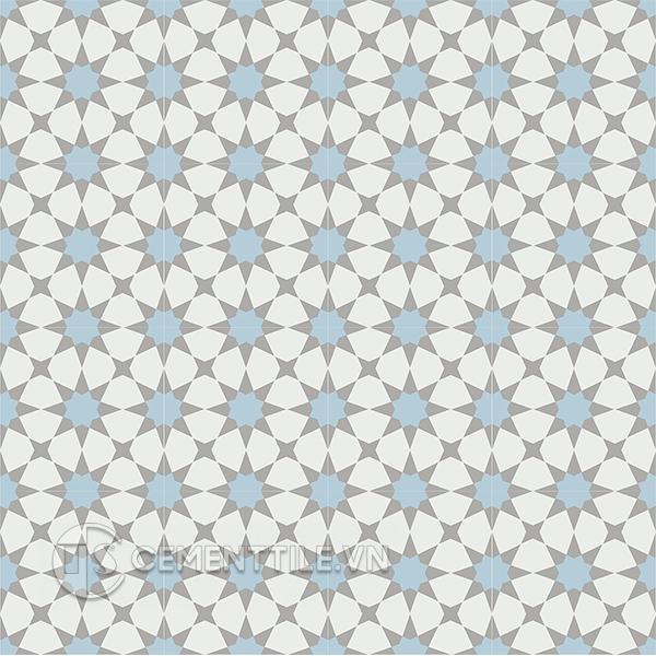 Gạch bông CTS 141.7(2-4-9) - 16 viên - Encaustic cement tile CTS 141.7(2-4-9) - 16 tiles